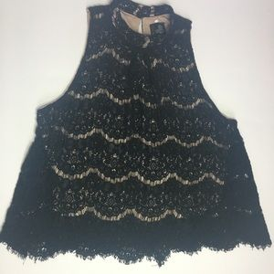Fire Los Angeles lace top